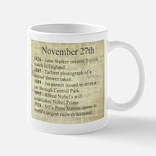 November 27th Mugs