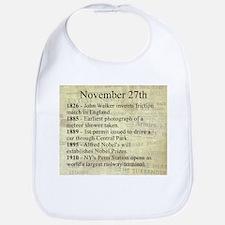November 27th Bib
