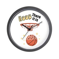 HOOP There It Is Wall Clock