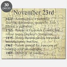 November 23rd Puzzle