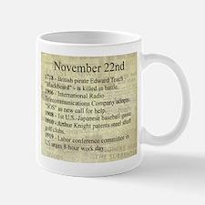 November 22nd Mugs