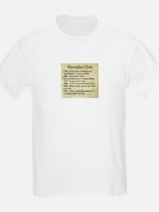 November 22nd T-Shirt