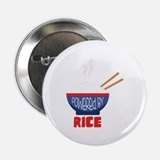"Powered By Rice 2.25"" Button"