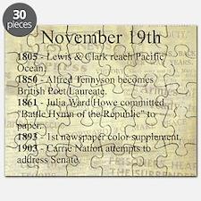 November 19th Puzzle
