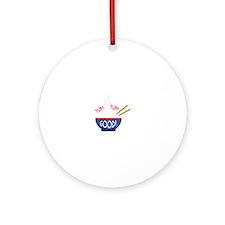 Yum Yum Good! Ornament (Round)