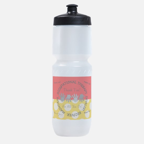 OT Thank You Cards Sports Bottle