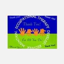 OT Thank You cards 3 Magnets