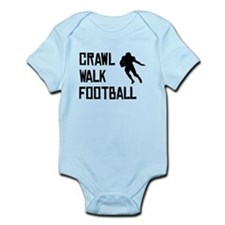 Crawl Walk Football Body Suit