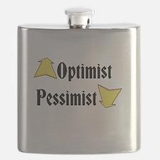 Optimist / Pessimist Flask
