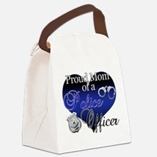 The Mrs. Police Wife Canvas Lunch Bag