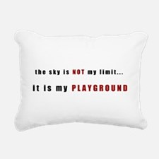 The Sky Is Not My Limit Rectangular Canvas Pillow