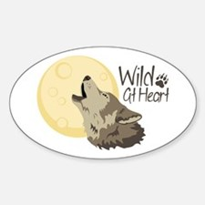 Wild At Heart Decal