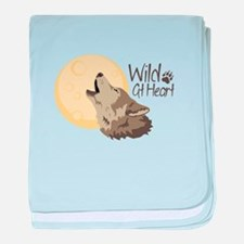 Wild At Heart baby blanket