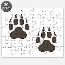 Paw Print Puzzle