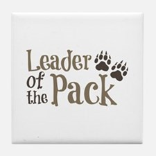 Leader Of The Pack Tile Coaster