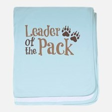 Leader Of The Pack baby blanket