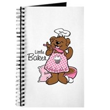 Bear Little Baker Journal