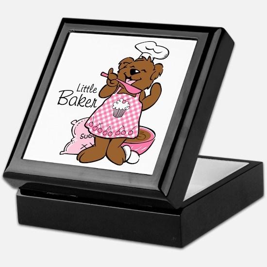 Bear Little Baker Keepsake Box