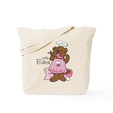 Bear Little Baker Tote Bag