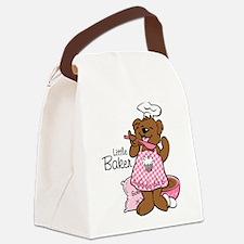 Bear Little Baker Canvas Lunch Bag