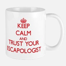 Keep Calm and trust your Escapologist Mugs