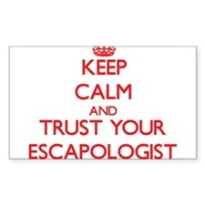 Keep Calm and trust your Escapologist Decal