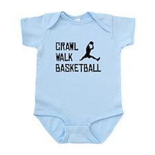 Crawl Walk Basketball Body Suit