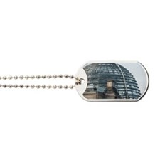 reichstag dome Dog Tags