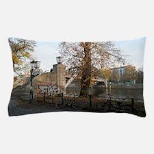 berlin river Pillow Case