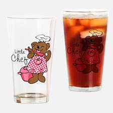 Bear Little Chef Drinking Glass