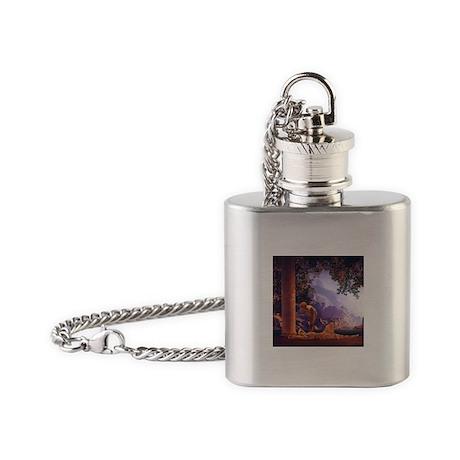 Maxfield Parrish Daybreak Flask Necklace