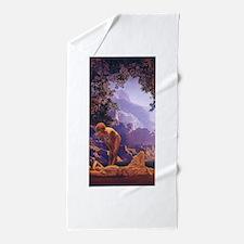 Maxfield Parrish Daybreak Beach Towel