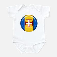 Madeira islands flag Infant Bodysuit