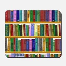 The bookshelf Mousepad