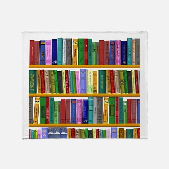 The bookshelf Throw Blanket