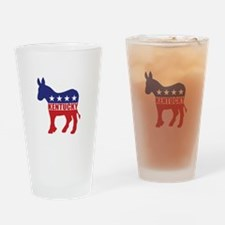 Kentucky Democrat Donkey Drinking Glass