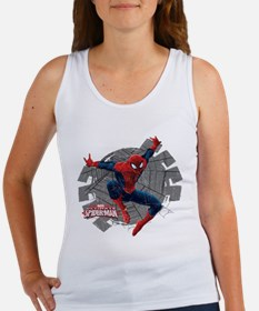 Spiderman Web Women's Tank Top