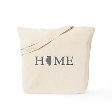 Illinois Home State Tote Bag