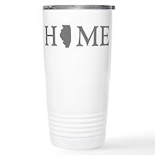 Illinois Home State Travel Mug