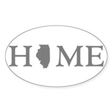 Illinois Home State Decal