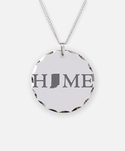 Indiana Home Necklace