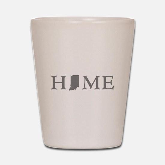 Indiana Home Shot Glass