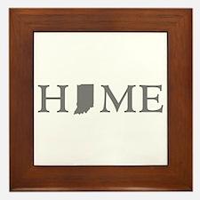 Indiana Home Framed Tile