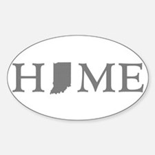 Indiana Home Decal