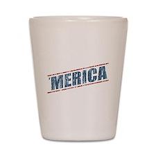 Vintage 'Merica Shot Glass