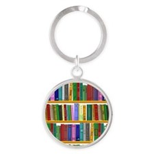 The bookshelf Keychains