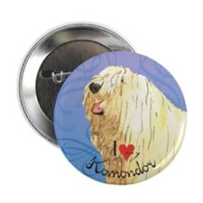 Komondor Button