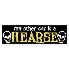My Other Car is a Hearse Bumper Car Sticker