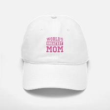 [Pink] World's Greatest Mom Baseball Baseball Cap