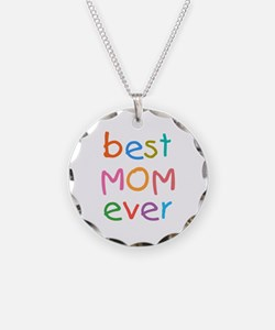 Kid's Best Mom Ever Necklace